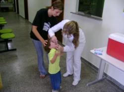Dia de vacina em Floraí/ 16 de junho