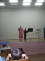 Evento com alunos do Colegio Urbano Pedroni