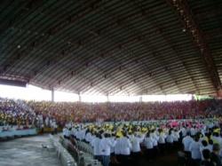 Festa do jubileu de ouro da arquidiocese de Maringá - março de 2007.