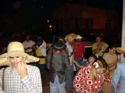Festa julina em Nova Bilac (22 de julho de 2006)