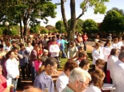 Missa e procissão de Corpus Christi de 2007