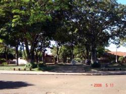 Praças, jardins, avenidas, conjuntos habitacionais.