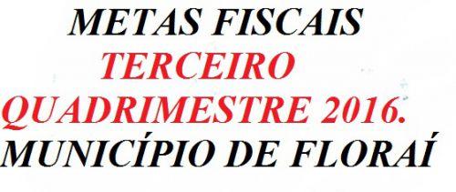 Audiência Publica mostrará as metas fiscais do Municipio.