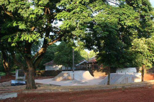Municipio constrói pista de Skate.