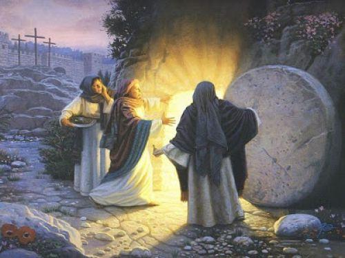 É Pascoa ! Jesus Ressuscitou.