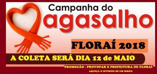 Campanha do Agasalho 2018 em Florai.