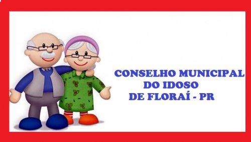 Reunião do Conselho do Idoso de Floraí.