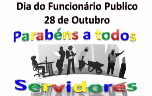 28 de outubro, dia do funcionario publico.