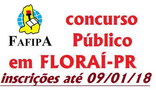 Concurso Público em Florai.
