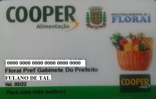 Funcionalismo Municipal recebe novo cartão alimentaçao.