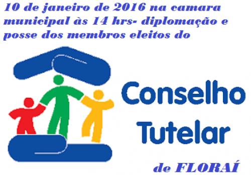 Posse dos novos conselheiros tutelares será dia 10 de janeiro