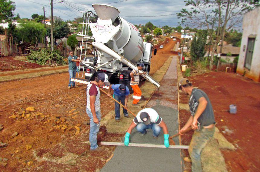Prefeitura em parceria com o Governo do Estado realiza importantes melhorias para o Jardim Anchieta