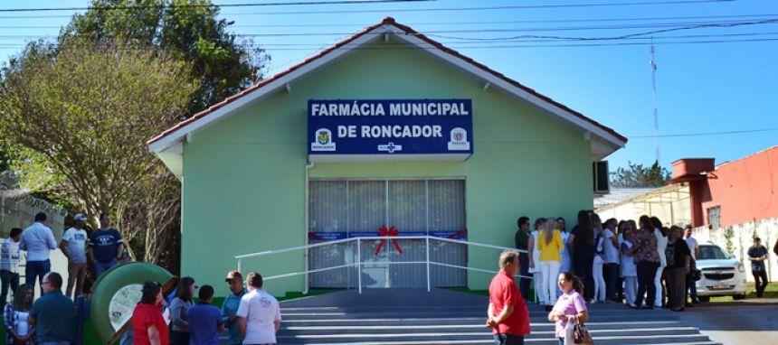 Prefeitura inaugura nova Farmácia Básica do Município