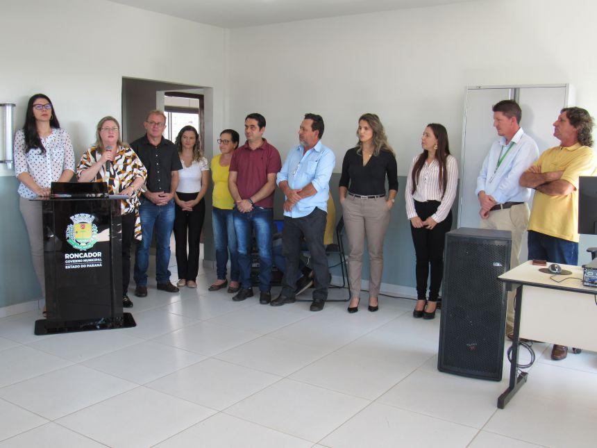 REINAUGURADA HOJE A AGÊNCIA DO TRABALHADOR DE RONCADOR