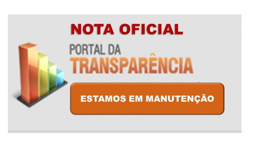 NOTA OFICIAL DO PODER EXECUTIVO DO MUNICÍPIO DE RONCADOR
