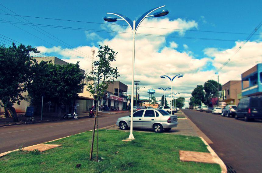 Canteiro Central da Avenida São Pedro