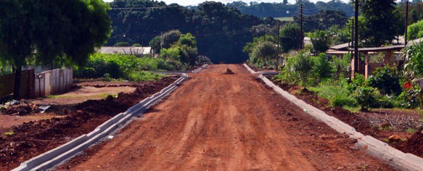 Obras transformam ruas do Jardim Anchieta