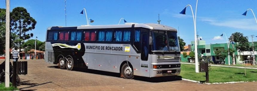 Ônibus Scânia doado pela Receita Federal