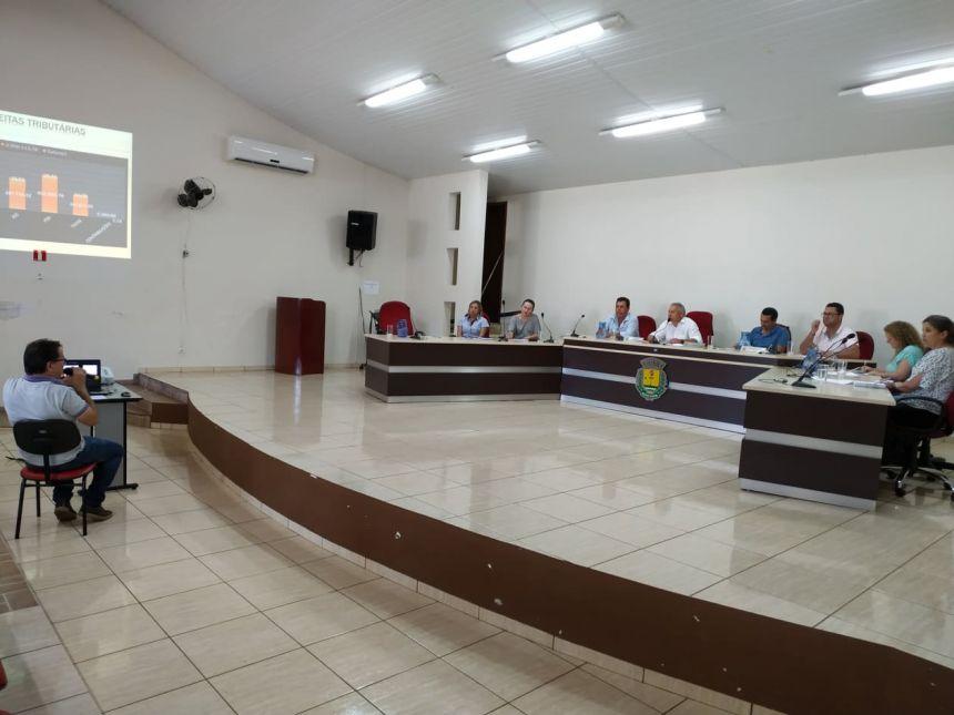 Os números foram apresentados pelo diretor de contabilidade João Istschuk Sobrinho, segundo o qual o Município está organizado fiscalmente.
