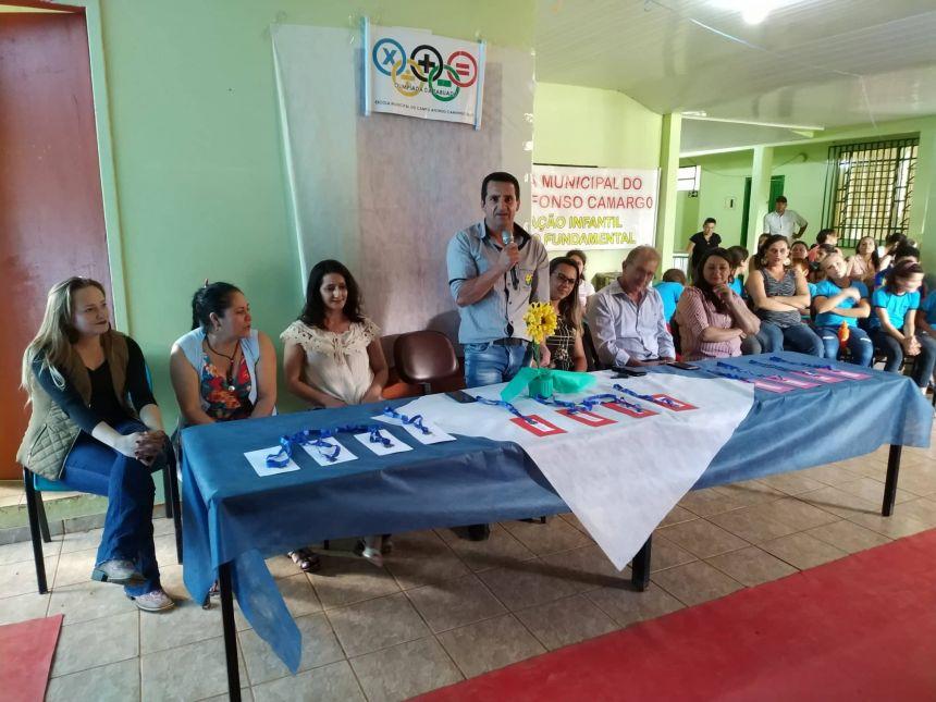 II OLIMPÍADA DE TABUADA DA ESCOLA MUNICIPAL DO CAMPO AFONSO CAMARGO