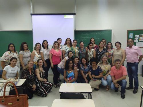 EQUIPE DA SECRETARIA MUNICIPAL DE EDUCAÇÃO PARTICIPA DO LANÇAMENTO DO PROGRAMA EDUCA JUNTOS