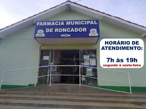 DIREÇÃO DA FARMÁCIA MUNICIPAL DE RONCADOR EXPLICA MEDIDAS PARA RETIRADA DE MEDICAMENTOS EM PERÍODO DE PANDEMIA