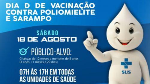 RONCADOR INICIA CAMPANHA CONTRA SARAMPO E POLIOMELITE