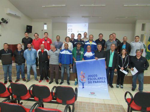 Os jogos terão a participação de 21 estabelecimentos de ensino, de 15 municípios jurisdicionados  ao NRE/Campo Mourão