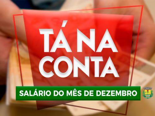 PREFEITURA DE RONCADOR PAGA SALÁRIO DE DEZEMBRO NESTA SEXTA-FEIRA