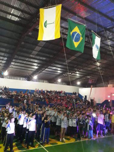 JEPS / BOM DE BOLA: CERIMÔNIA MARCA ABERTURA DA FASE REGIONAL RONCADOR