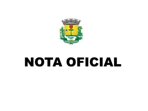 NOTA OFICIAL - TEMPORAL DE 31/10/2019