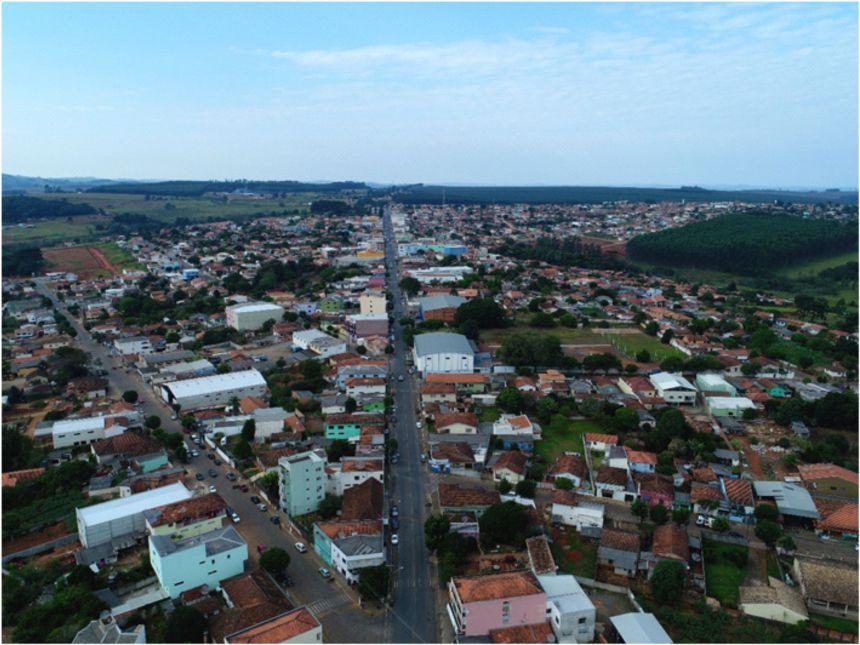 Captação de imagens aéreas do município