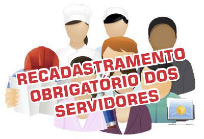 Todos os servidores da Prefeitura devem fazer recadastramento neste mês de Agosto