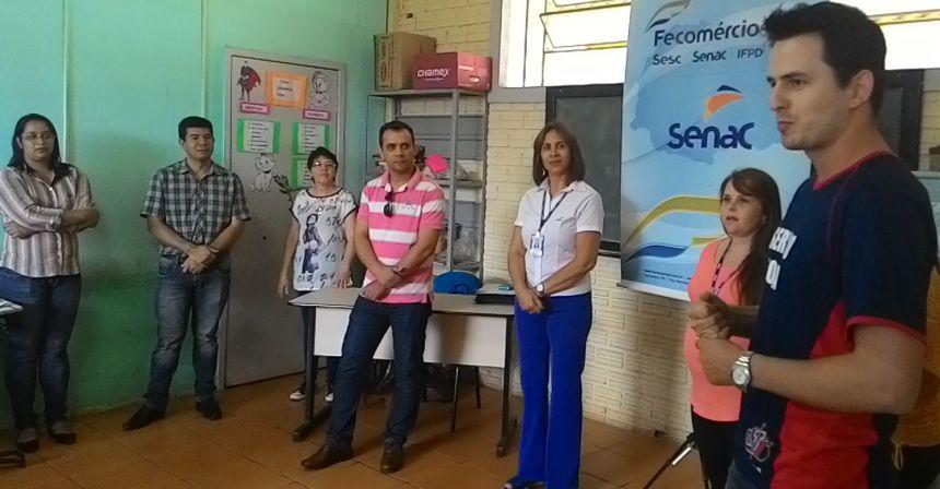 Senac forma mais uma turma em parceria com o município