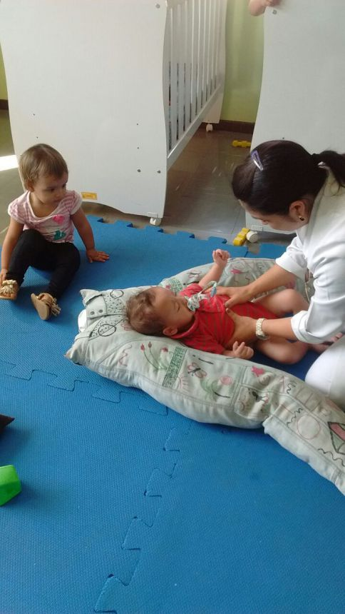 Alunos do CMEI passam a ter acompanhamento contínuo de Fisioterapeuta