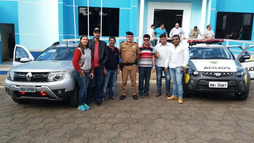 Polícias Civil e Militar recebem novas viaturas