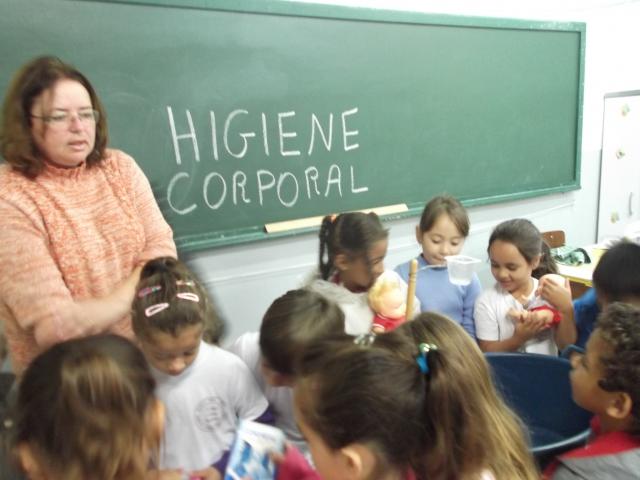 Projeto sobre Higiene Corporal
