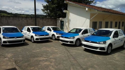 Prefeitura renova frota da saúde com 5 carros 0km
