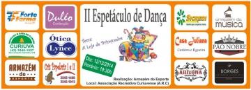 Armazém do Esporte realiza II Espetáculo de Dança em Curiúva