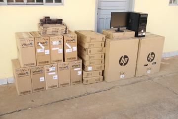 Prefeitura adquire R$13 mil em novos equipamentos de informática