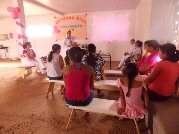 Outubro termina marcado por várias atividades alusivas à campanha contra o câncer de mama