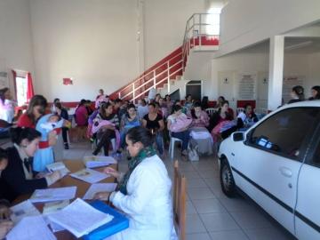 Teste da orelhinha é realizado gratuitamente em aproximadamente 30 bebês de Curiúva e região
