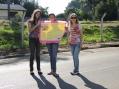 Caminhada homenageia as mulheres pela passagem de 8 de março