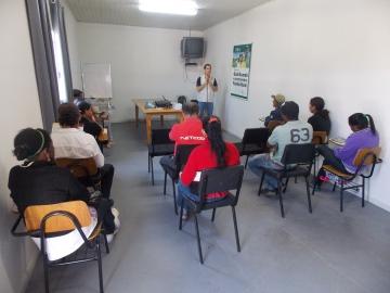 Produtores rurais participam de curso profissionalizante em Agricultura Orgânica