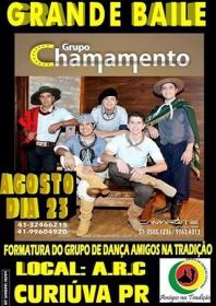 Formatura da 2ª turma de Danças Gaúchas de Curiúva acontece no próximo dia 23