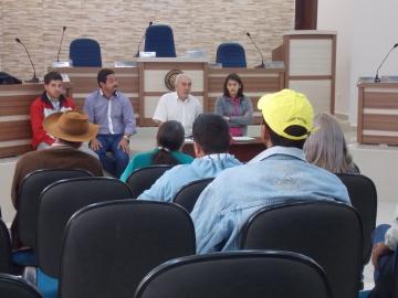 Famílias beneficiárias do PNHR se reúnem para tratar sobre o andamento das construções