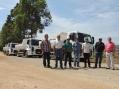 Recuperação e readequação da estrada do Felisberto