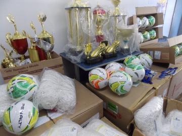 Mais de R$9 mil são investidos em materiais e artigos esportivos