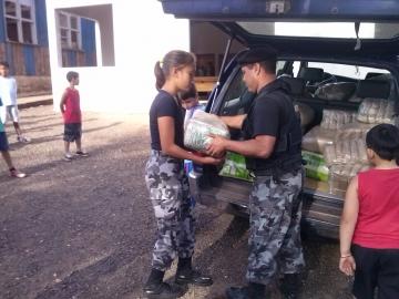 Escolas municipais e entidades de Curiúva são beneficiadas com doação de alimentos da CONAB