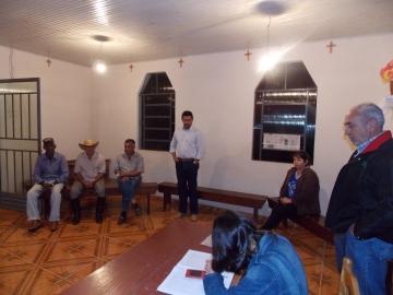 Moradores da Água Morna escolhem seus representantes para o CMDR′S
